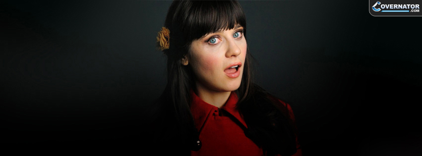 zooey deschanel Facebook cover