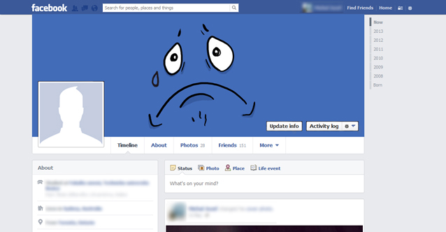 Change your Facebook cover to be trendy